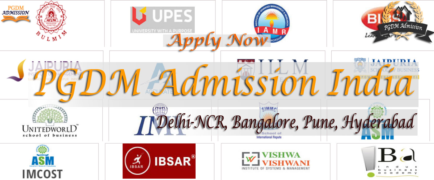 apply for PGDM admission